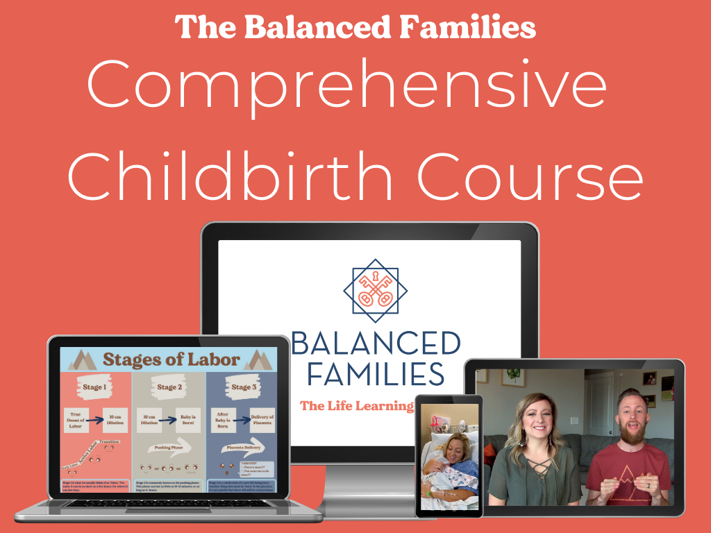 Balanced Families Comprehensive Childbirth Course