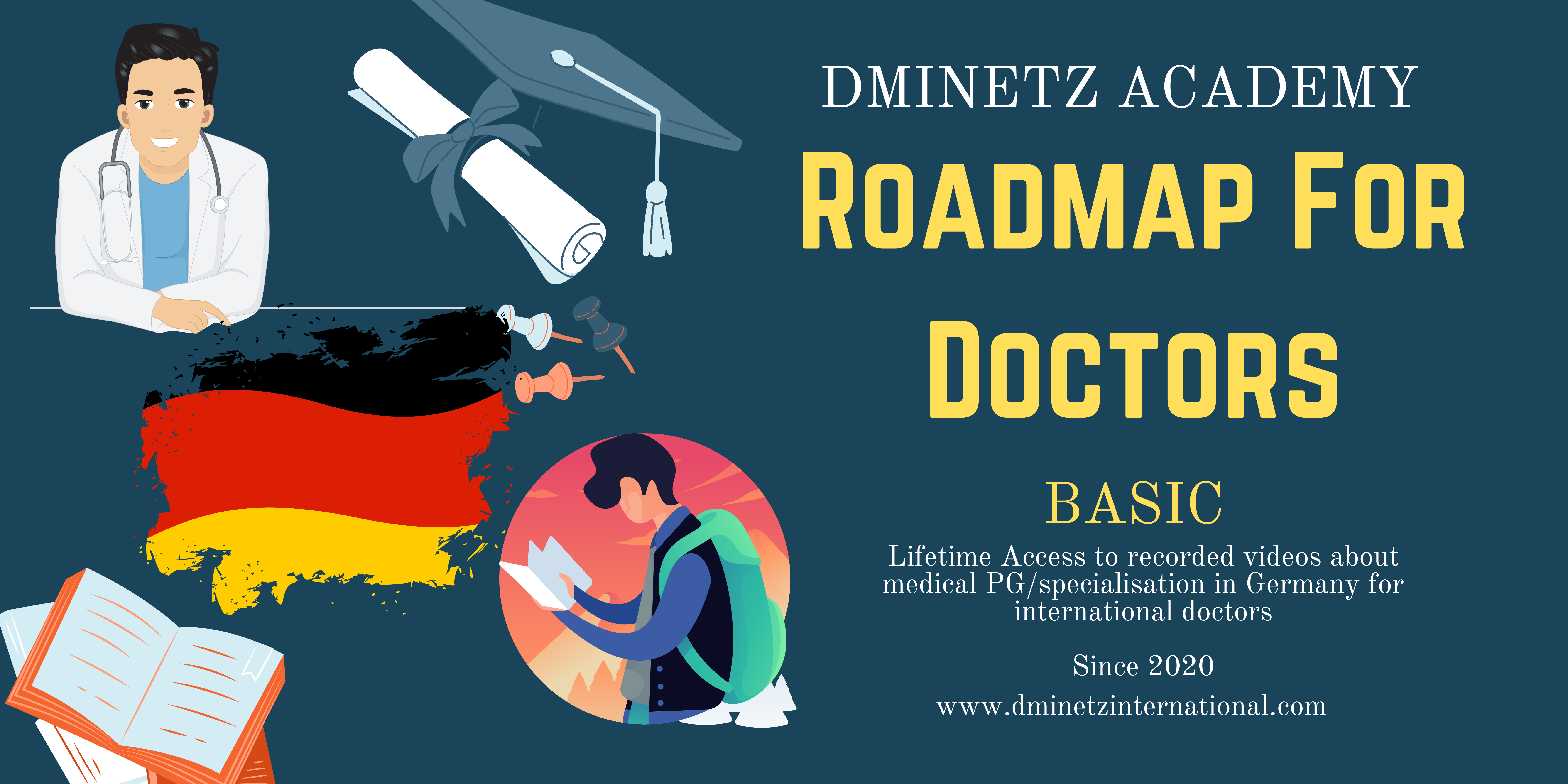 Roadmap for Doctors coming to Germany