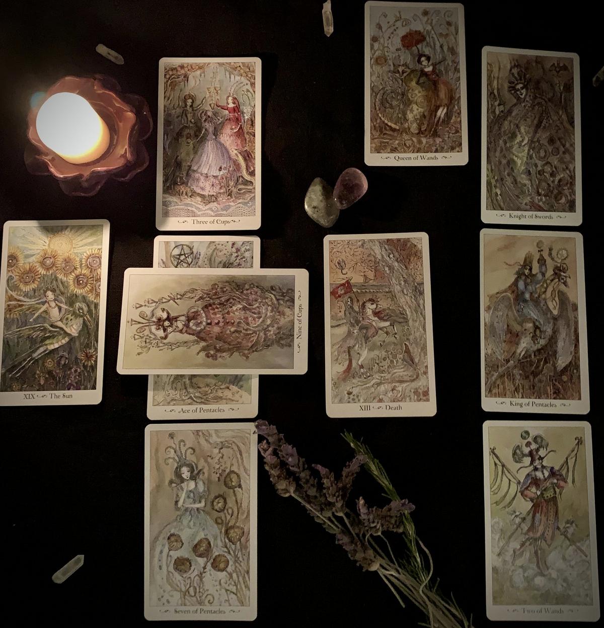 Ten Card Overall Tarot Reading