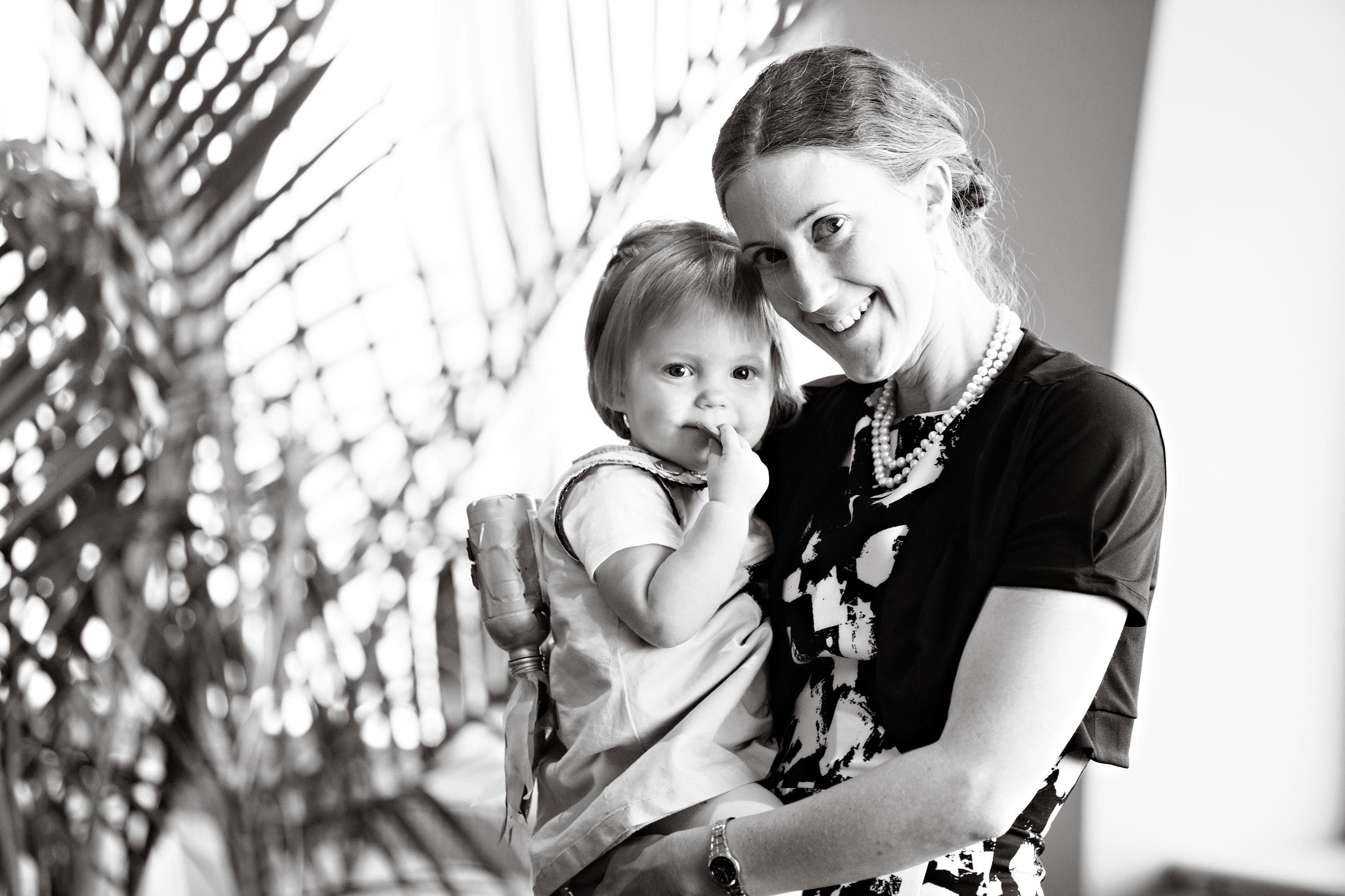 Lorelei Walker with her daughter.