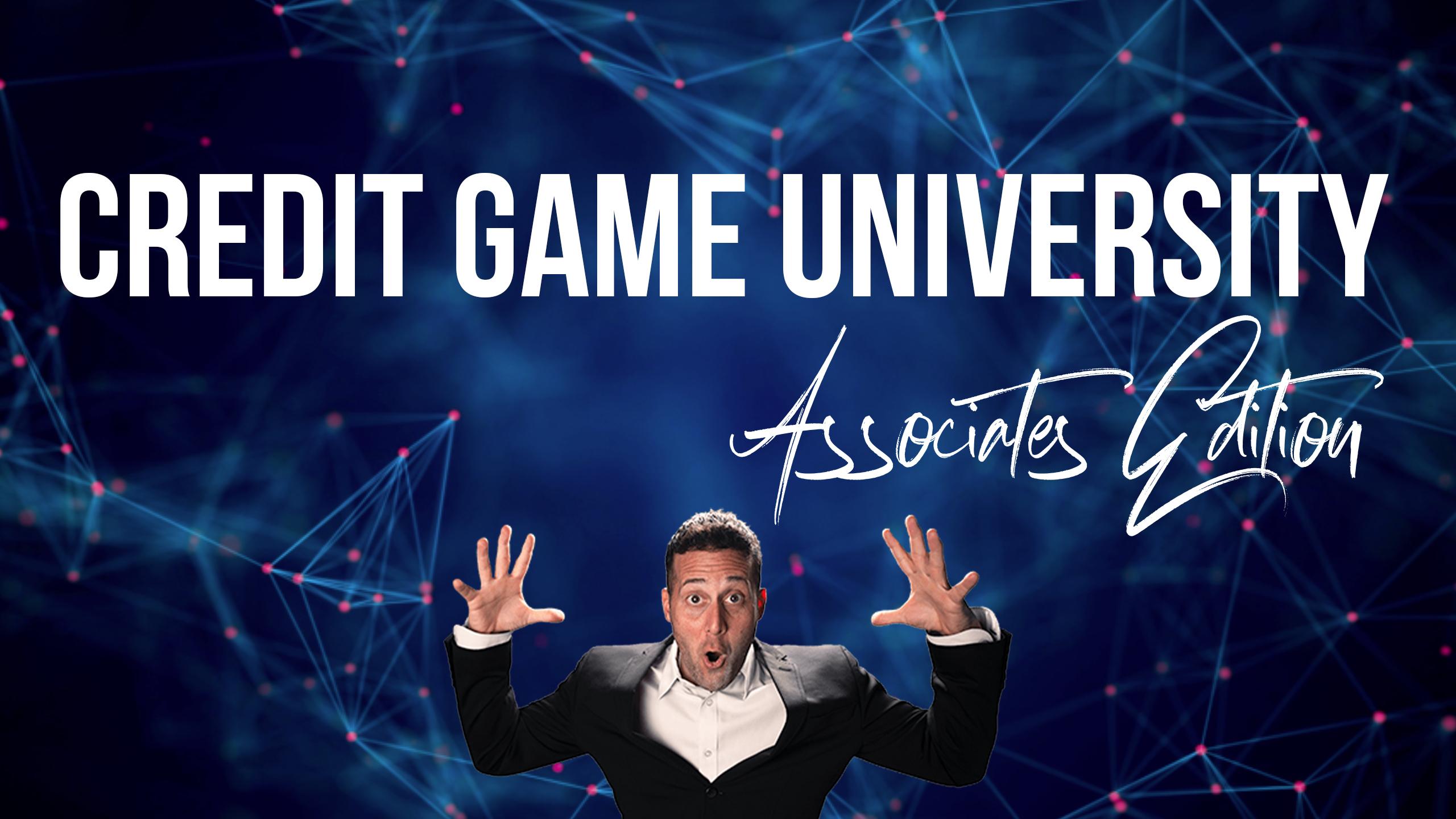 Credit Game University Associates Edition