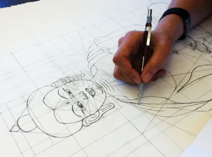 How to draw a Buddha with Carmen Mensink
