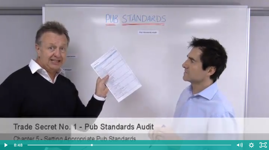 Tools the professionals use to ensure consistent great pub standards
