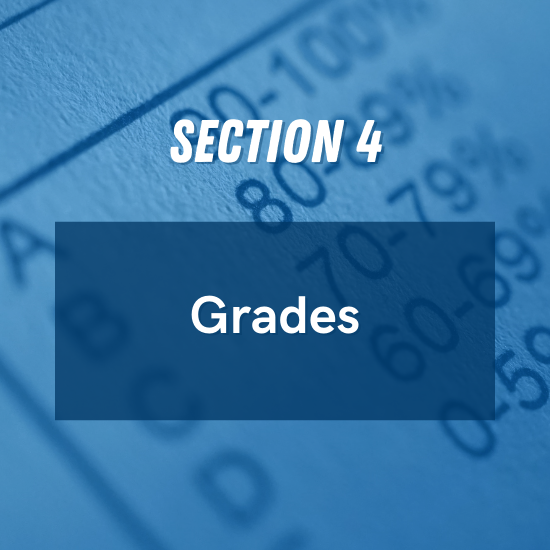 Section 4 - Grades