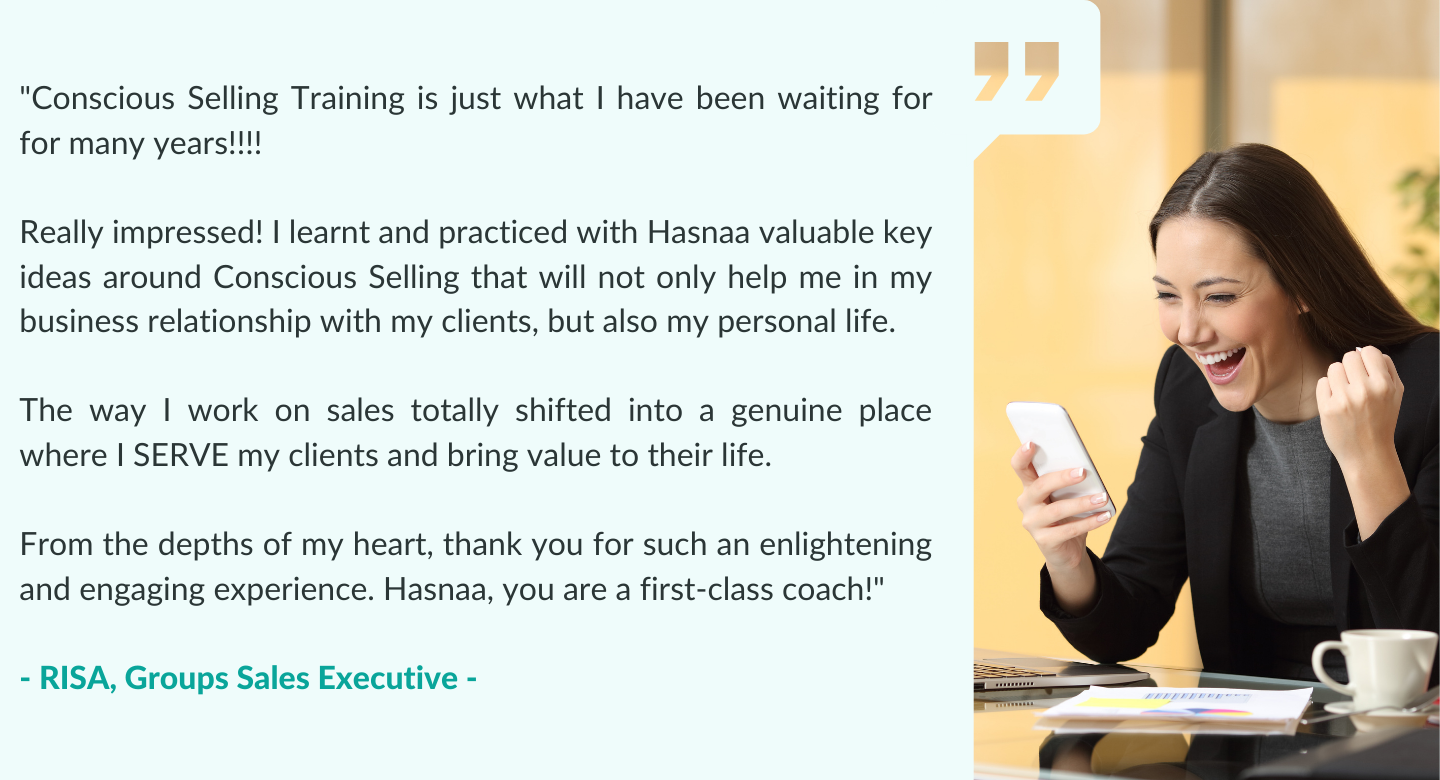 Sales online courses programs, virtual online training in sales, contact sales coach hasnaa.