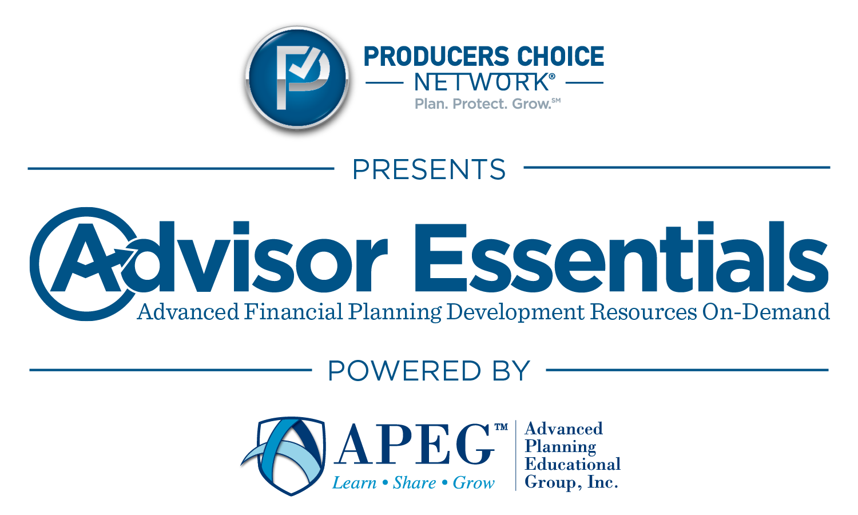 APEG - PCN - Advisor Essentials