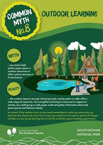 Outdoor Learning Myth Number 8