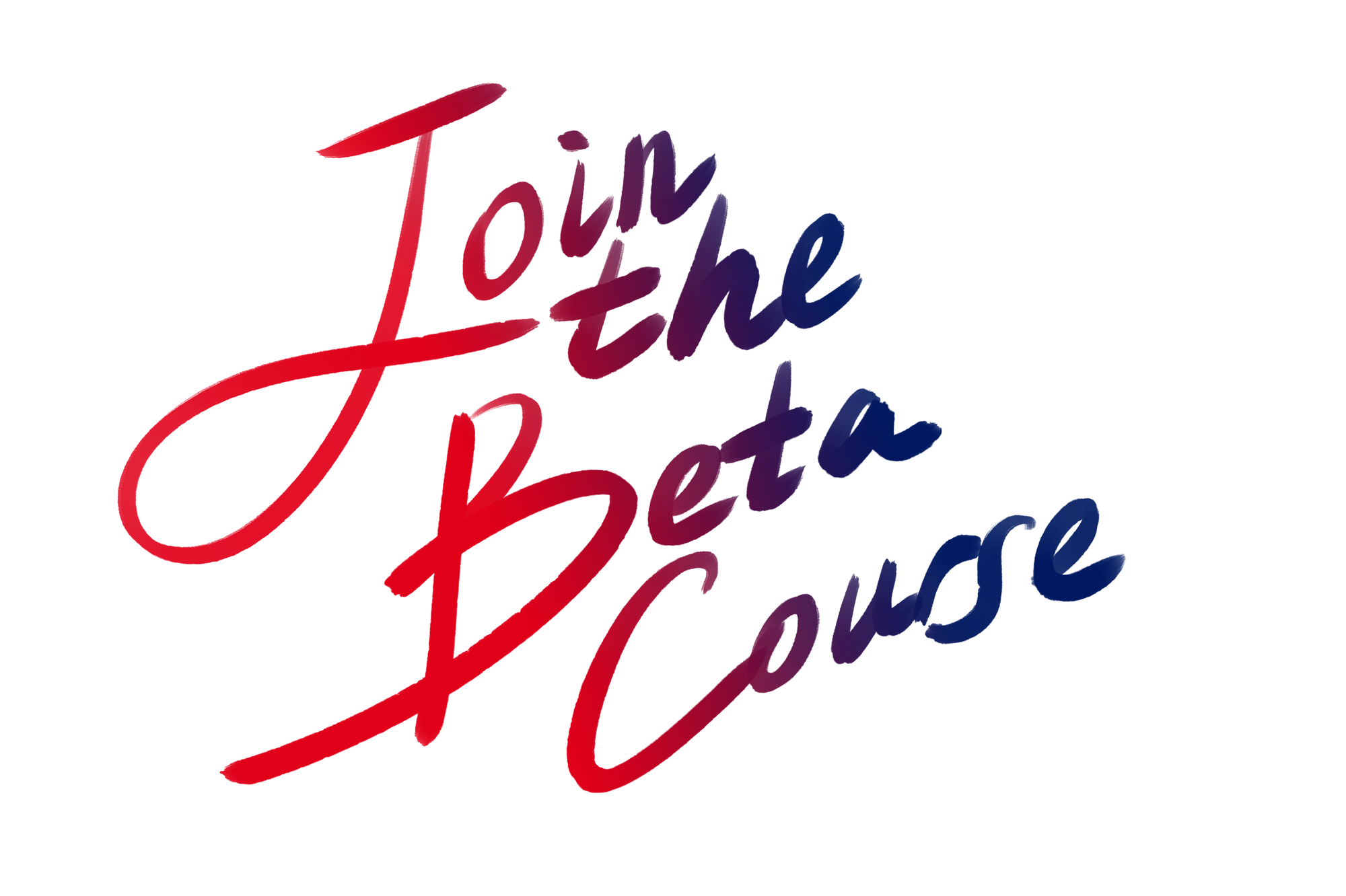 Join the Beta Course