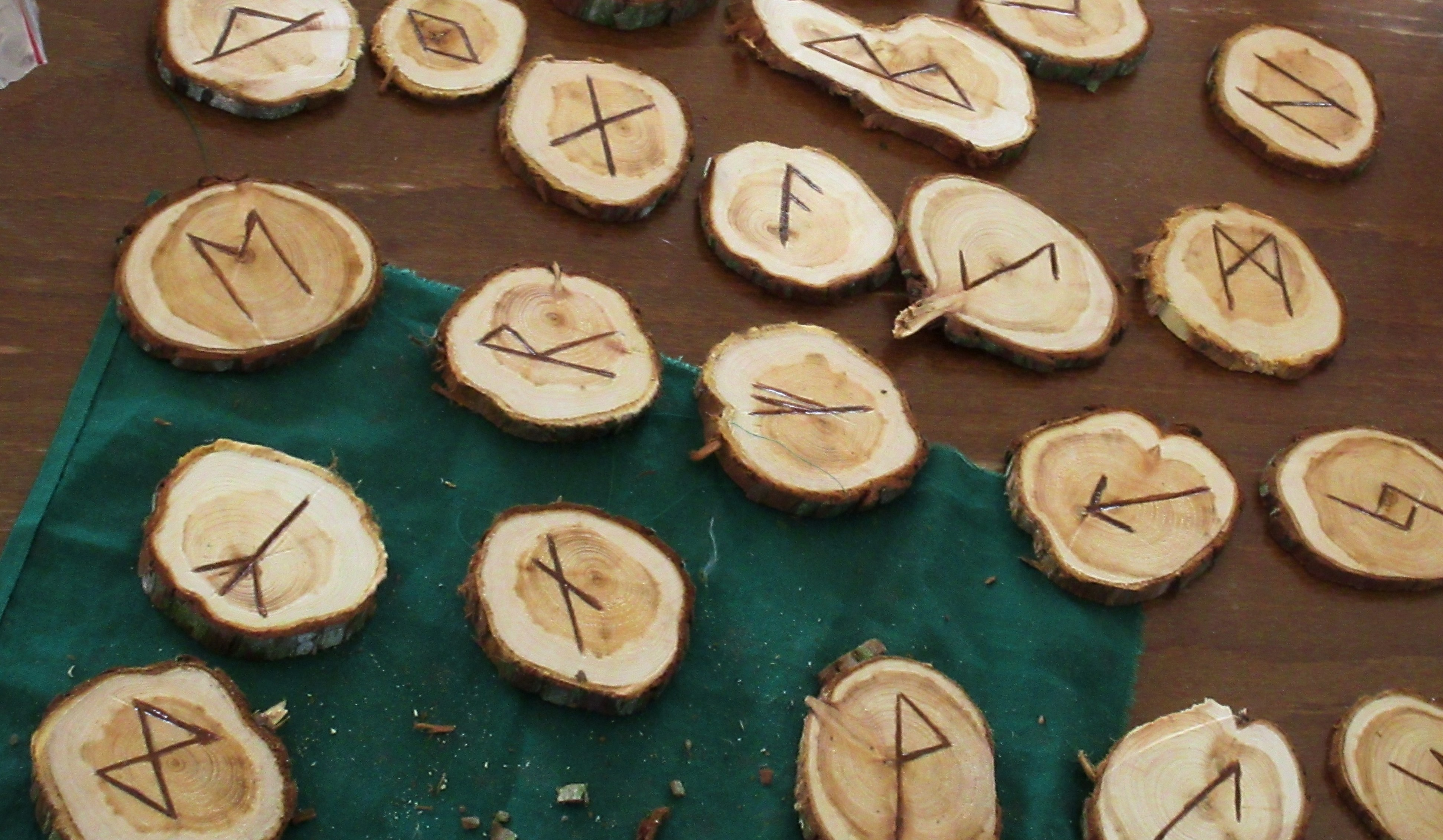Sigil work with the Runes of the Elder Futhark