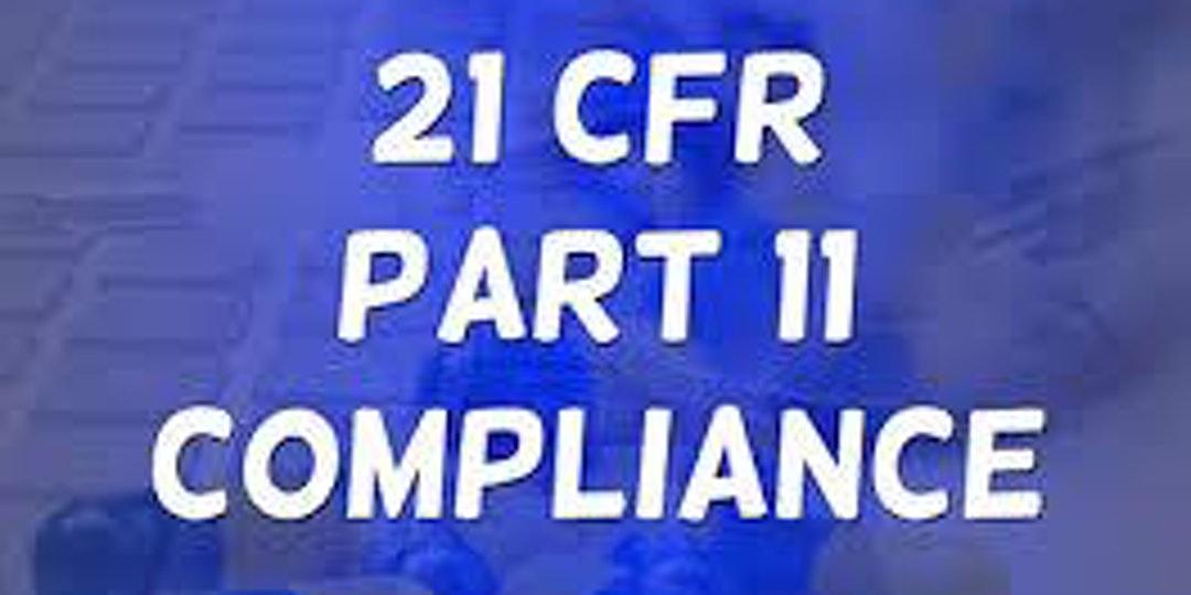 Online Training On 21 CFR Part 11, SaaS/Cloud, EU GDPR