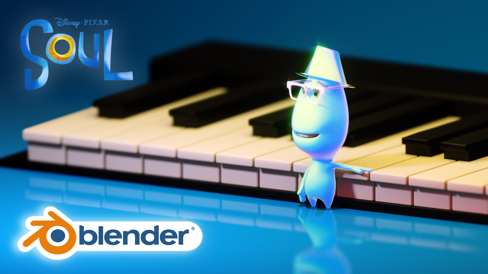 3D Character Movie Pixar Style Blender Academy Course