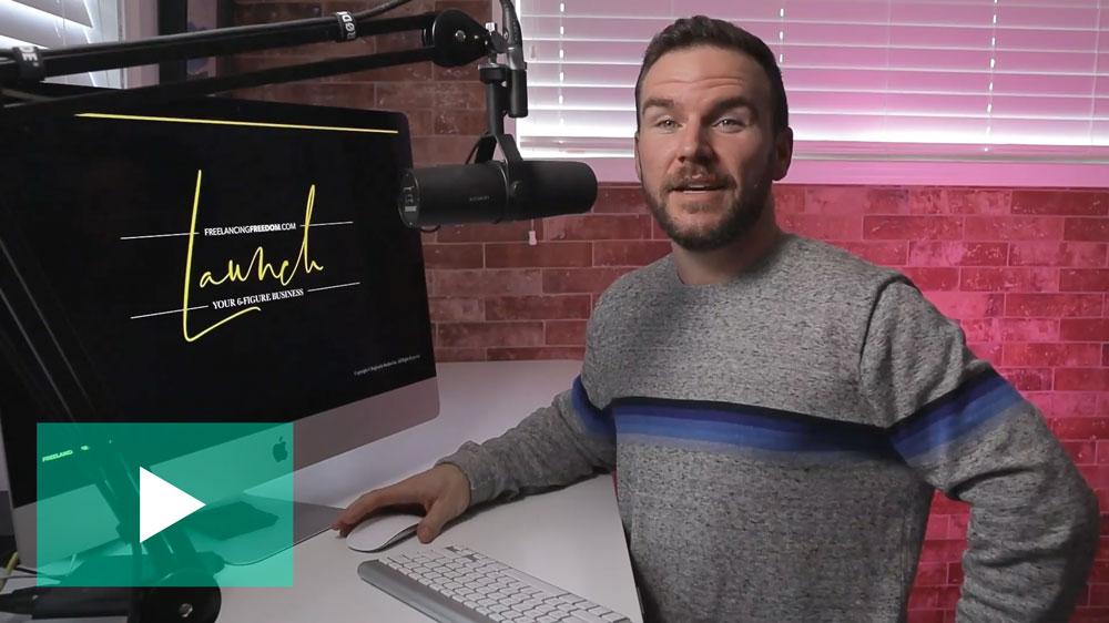 brad hussey - branding and website design for freelancers
