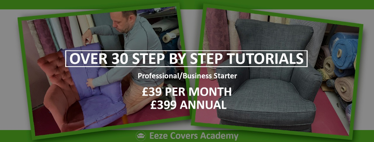learn to make loose covers online.