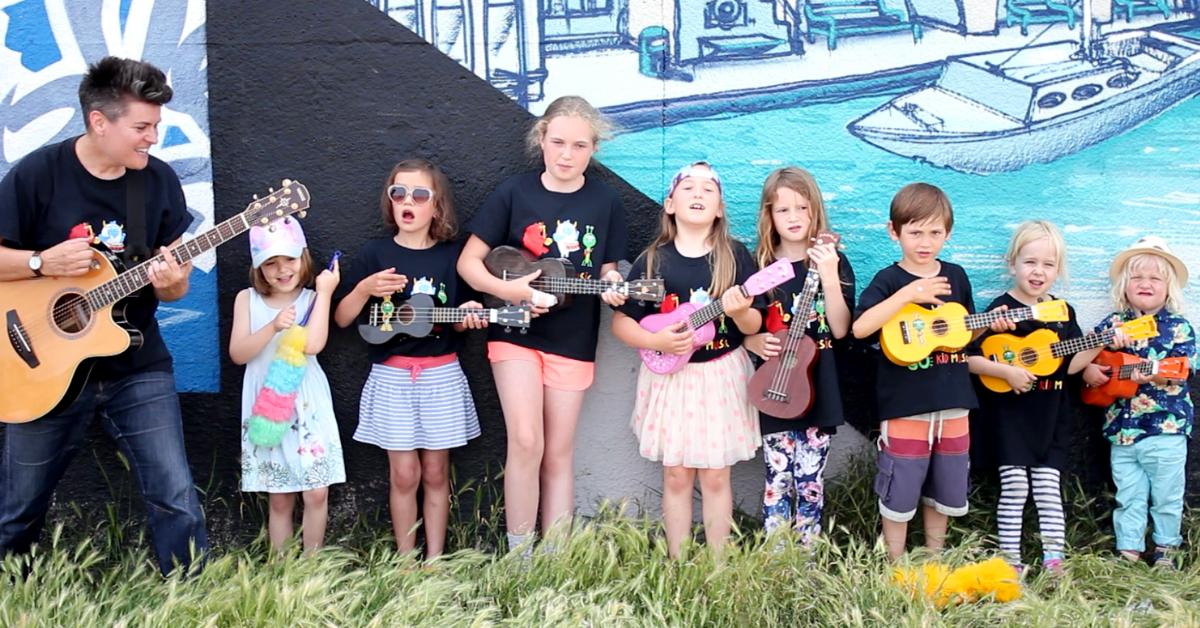 Al Start with children and ukuleles