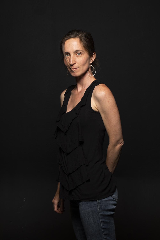 headshot of yin yoga teacher Kari Kwinn