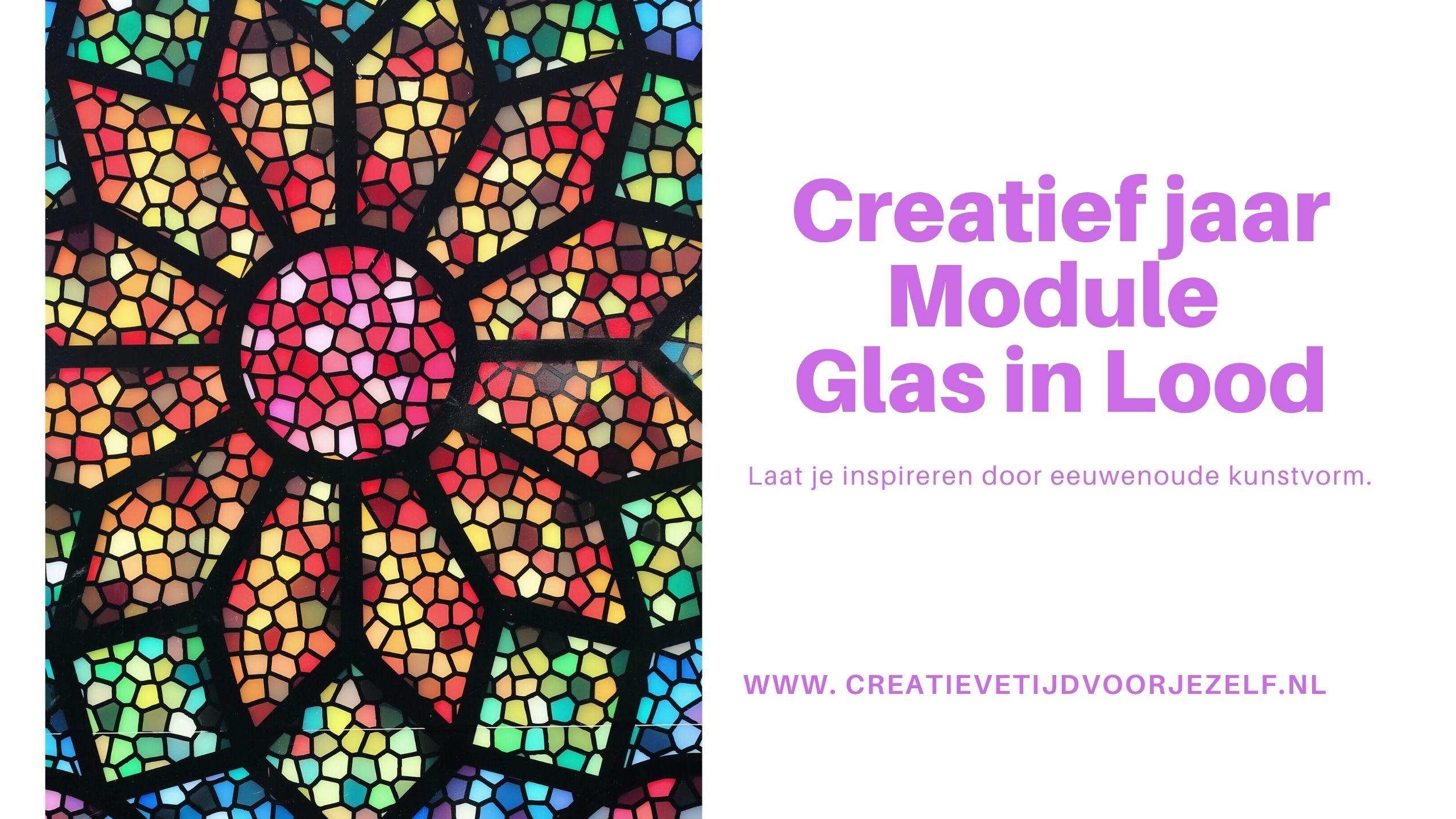Workshop glas in lood (tekencursus)