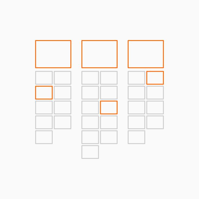 organização de atributos