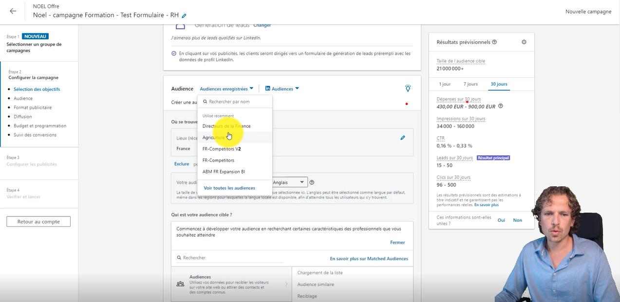 Formation LinkedIn Ads complète