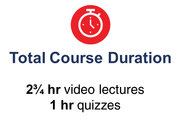 Total course duration