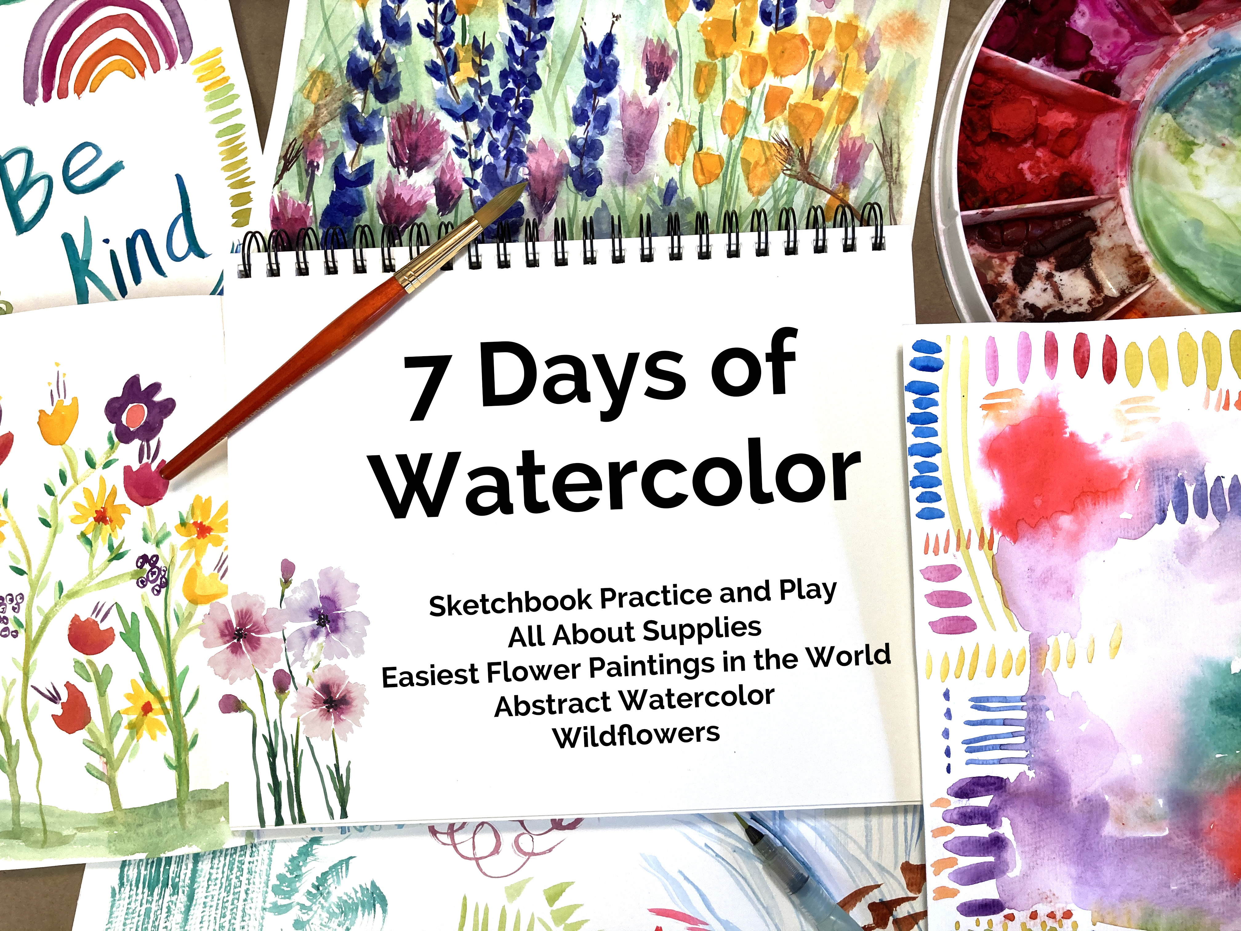 7 Days of Watercolor Painting