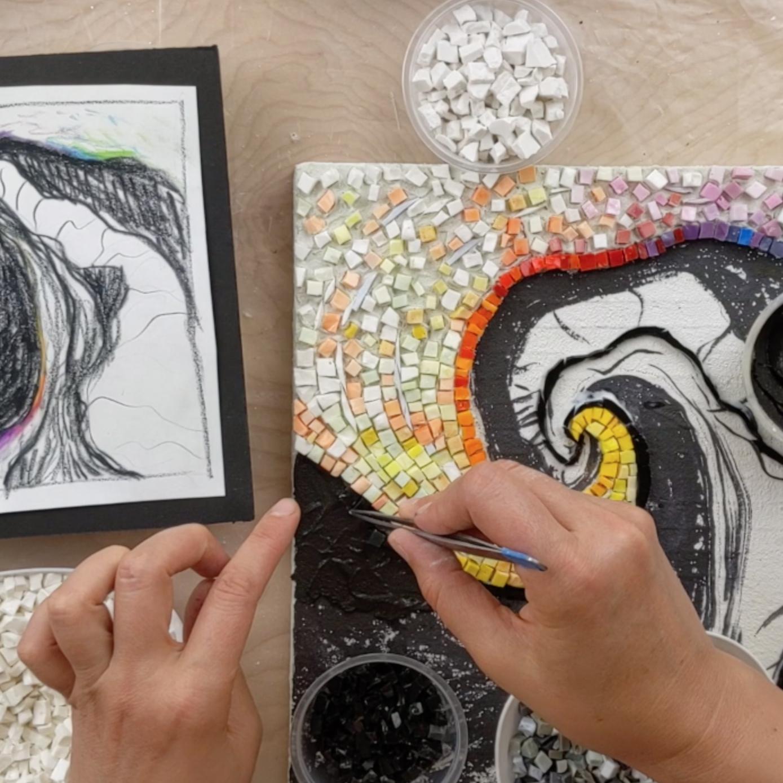 mosaic in progresss