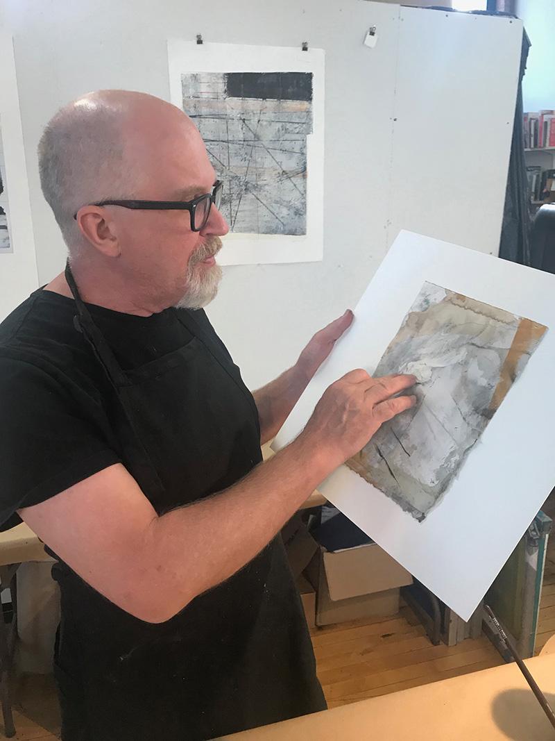 Jeff Hirst - Printmaking & Painting