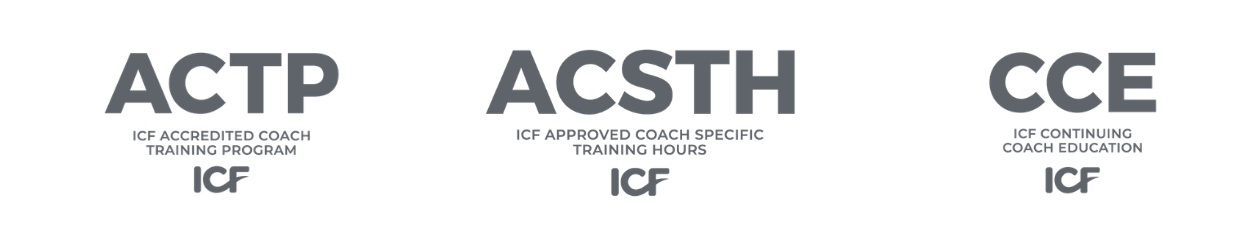 ICF ACTP ACSTH CCE ACCREDITED