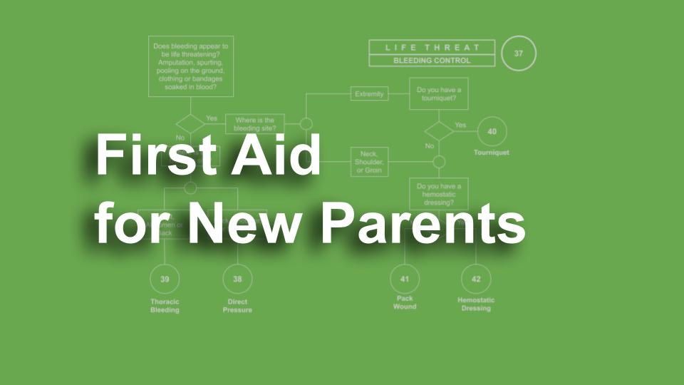 First aid for new parents online