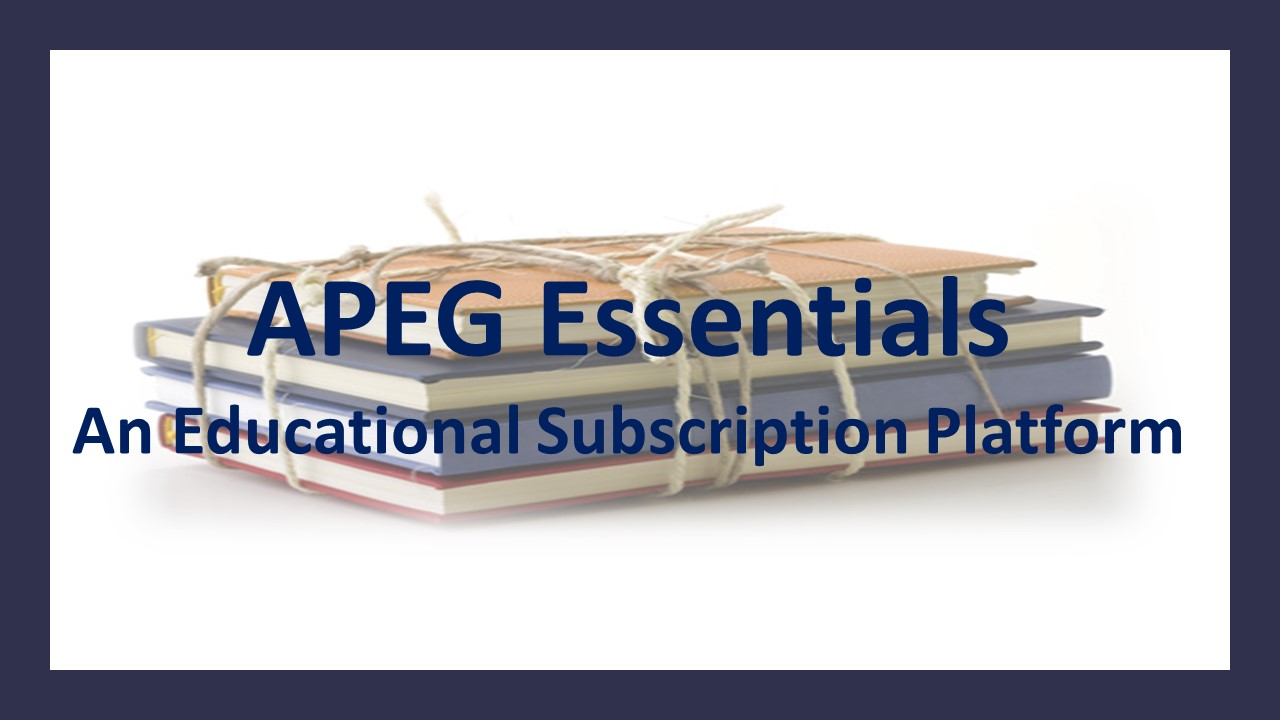APEG Essentials