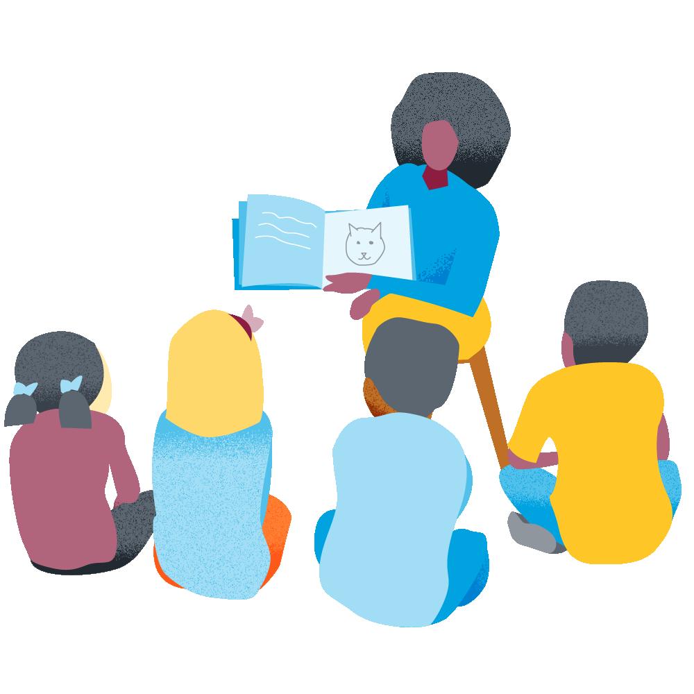 teacher group read