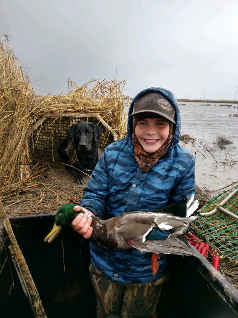 Kids Duck Hunting