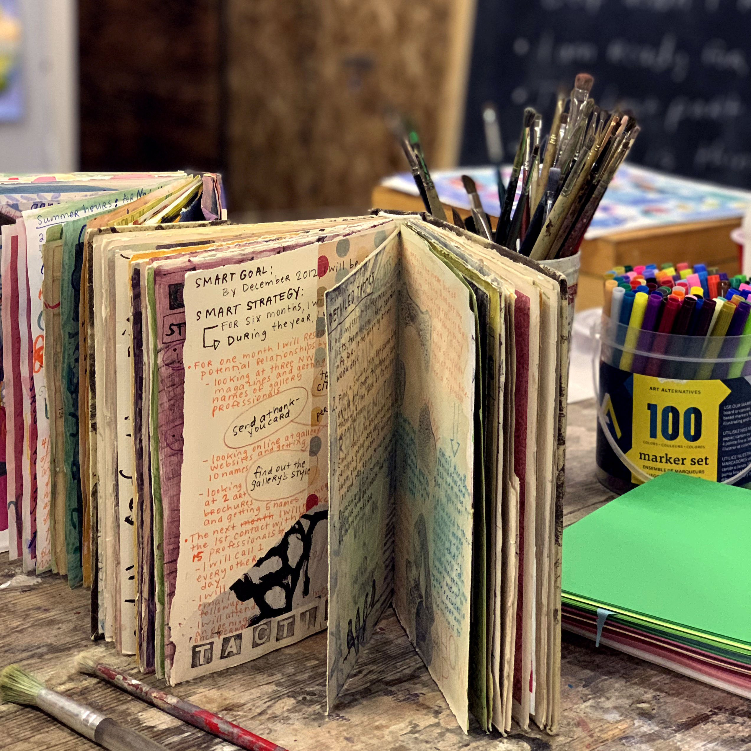 case bound book binding journal