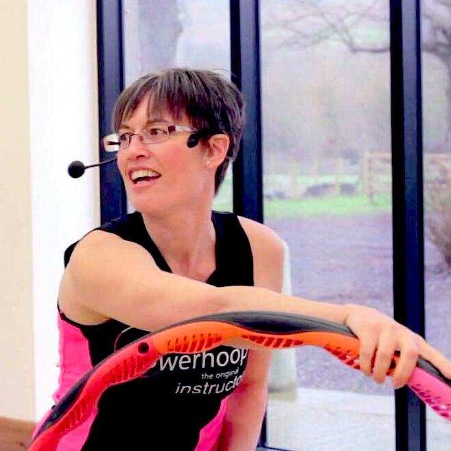 Fitness Hula Hoop Master Trainer Lisa