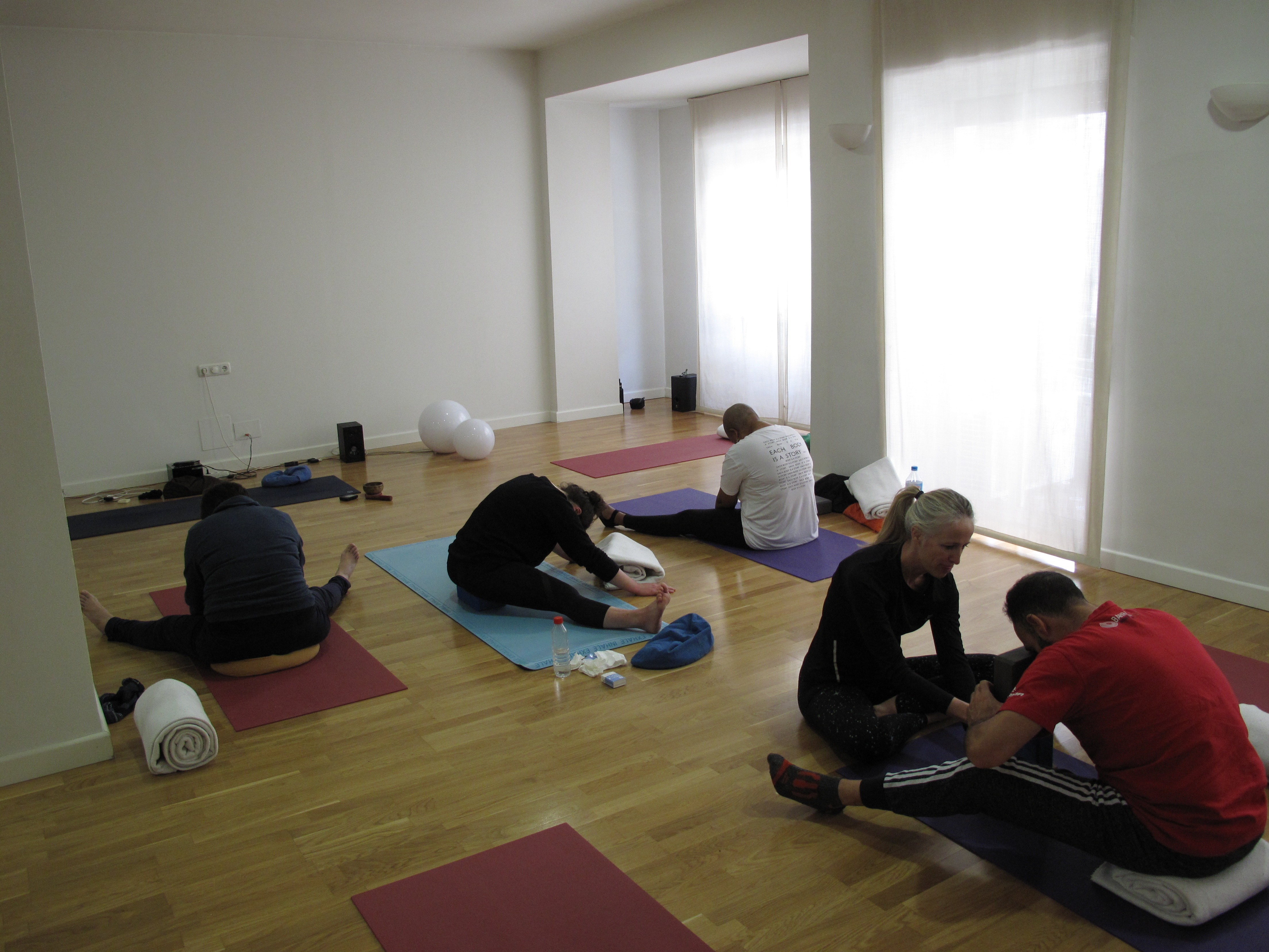 Each body is different in Yin Yoga!