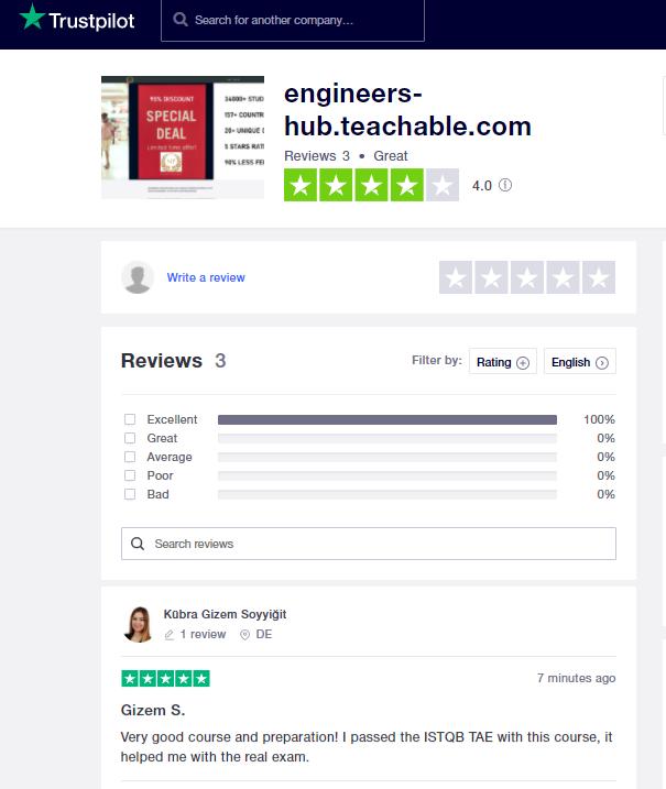 https://uk.trustpilot.com/review/engineers-hub.teachable.com