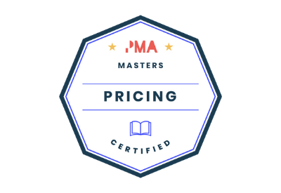 Pricing Certified badge
