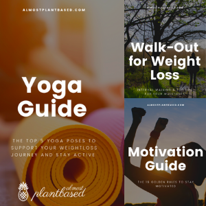 3 exercise guides such as the yoga guide, walk out for weight loss and the motivation guide