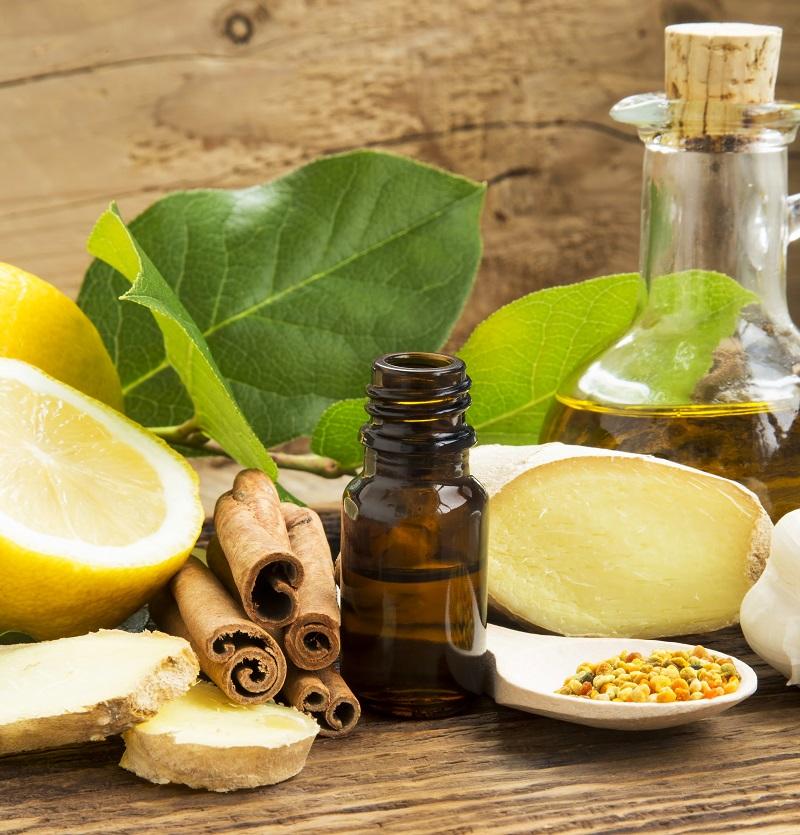 essential oils of cinnamon ginger lemon