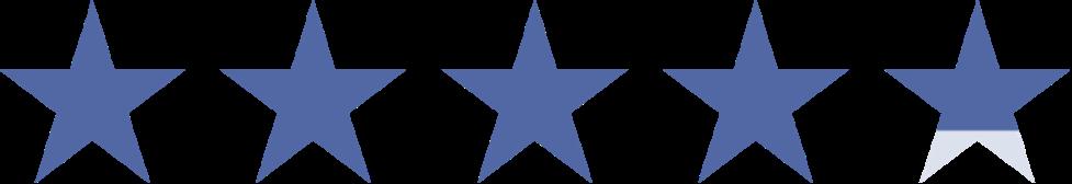 4.7 Stars!