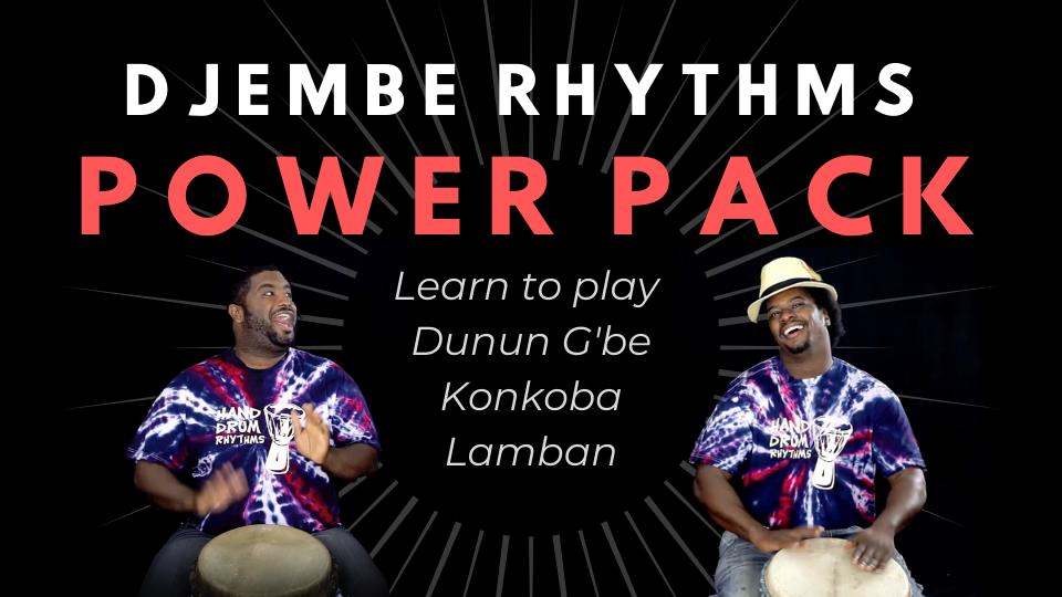 Djembe Rhythms with Weedie & Amadou