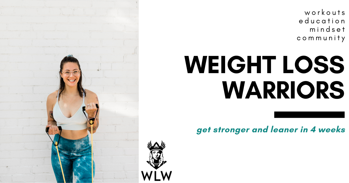 Weight Loss Warriors by Leah Peters Fitness