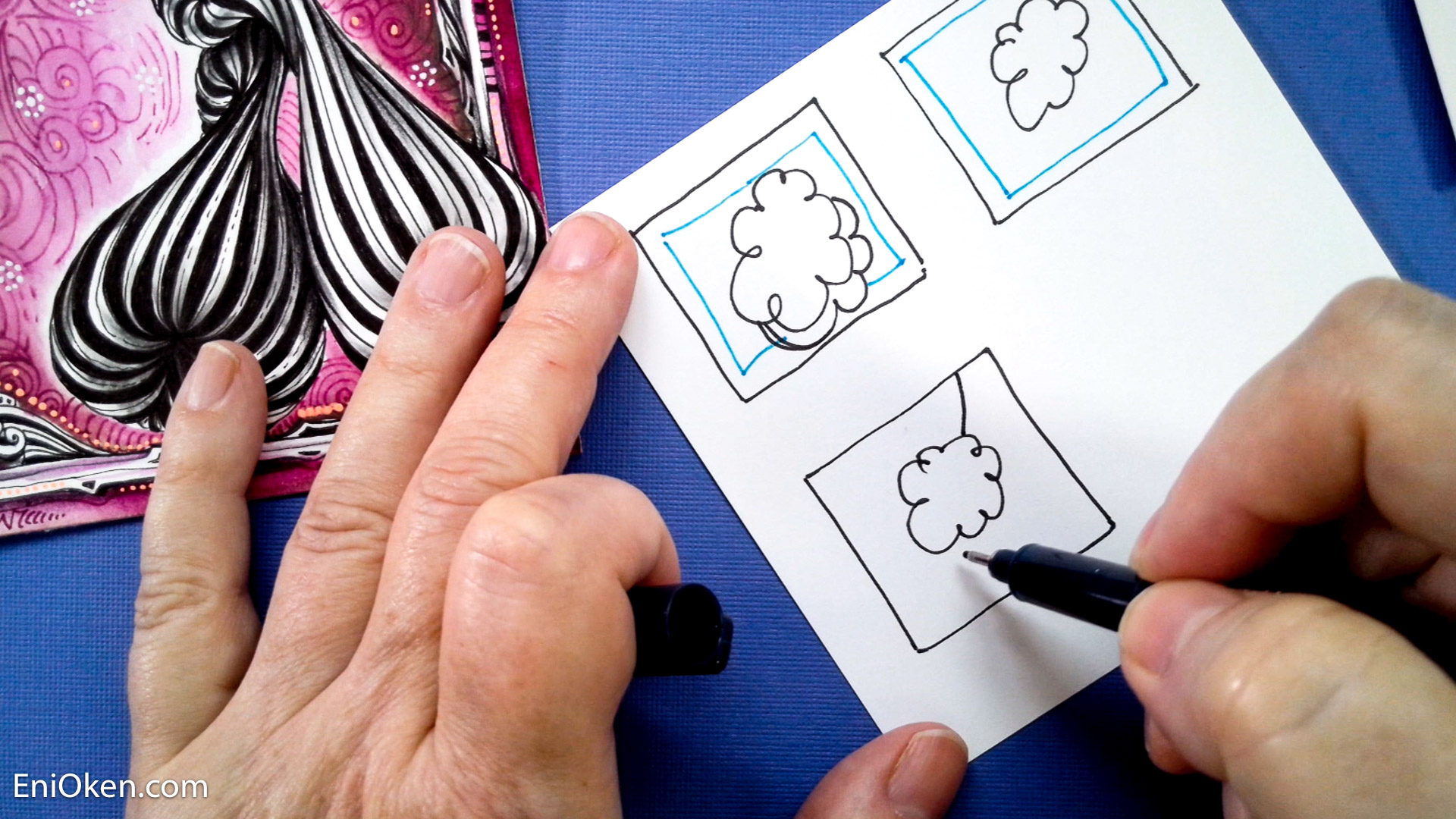 Framed and Cornered Video Lesson - Eni Oken