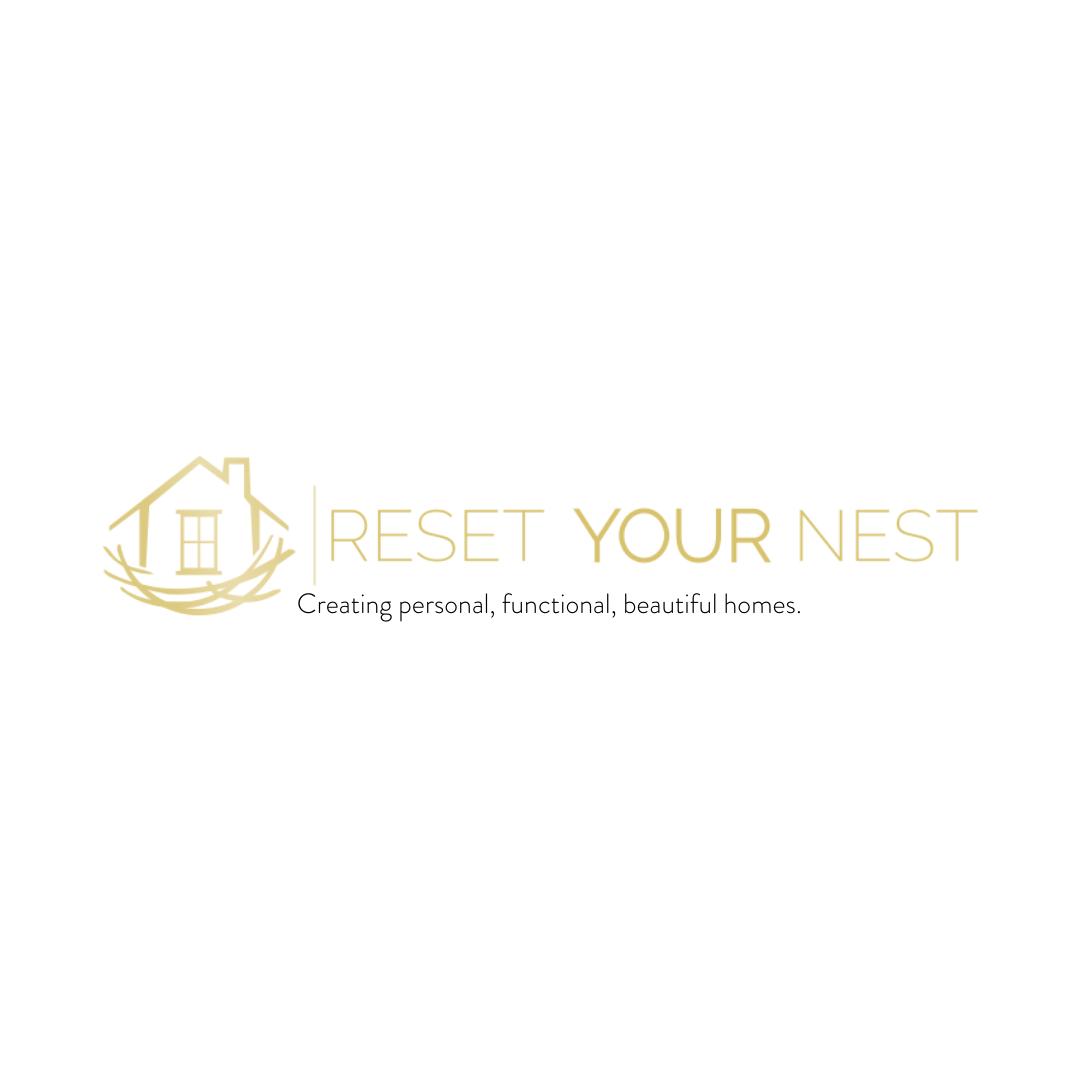 Reset your nest, creating personal, functional and beautiful homes.