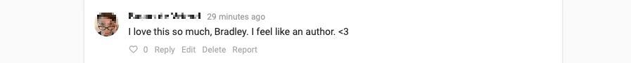 I Feel Like an Author