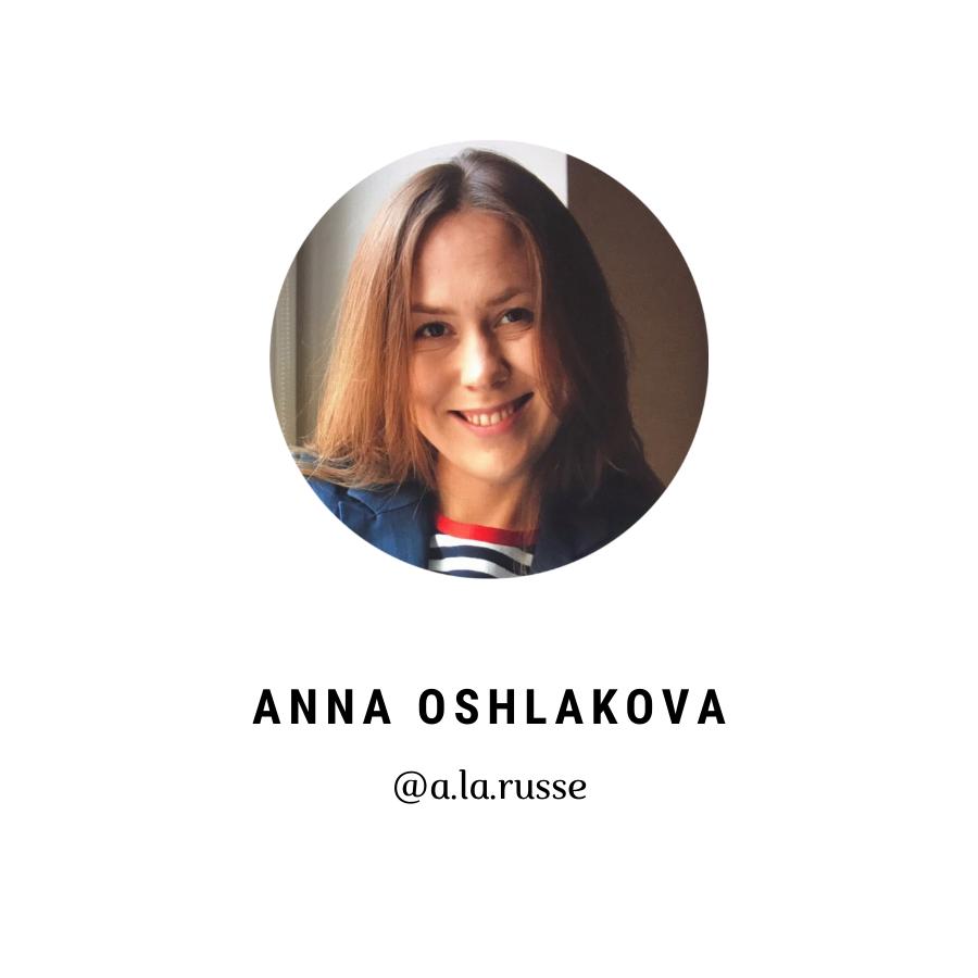 Anna Oshlakova Alarusse