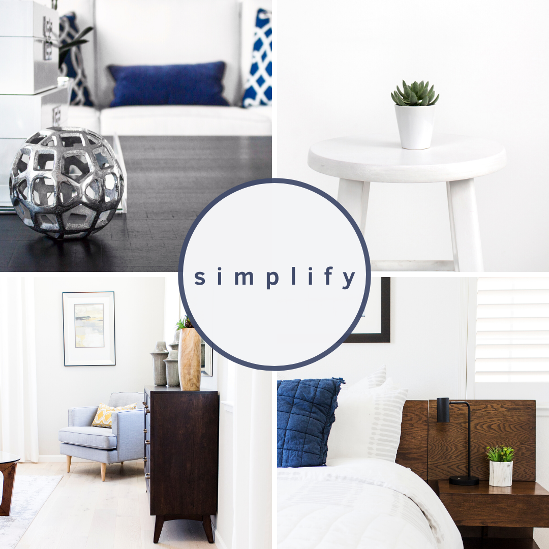 simplify, blue, silver, brown, white images minimal of bedrooms