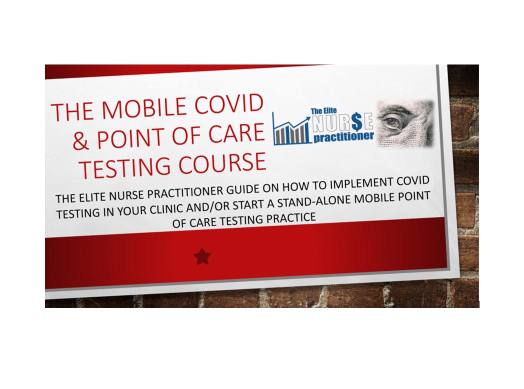 Mobile COVID Testing Course