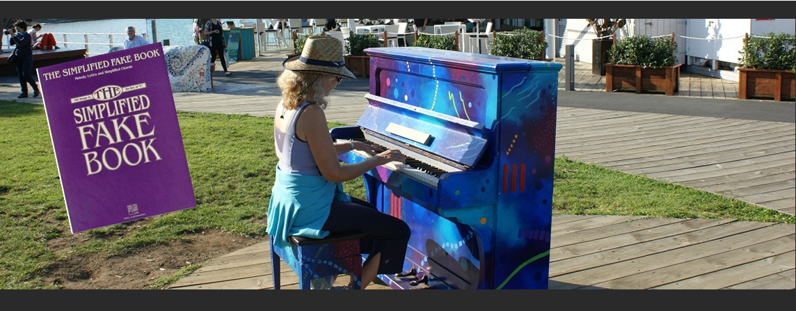Painted Piano in the Bay of Islands