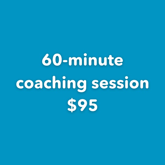 60-minute coaching session $95