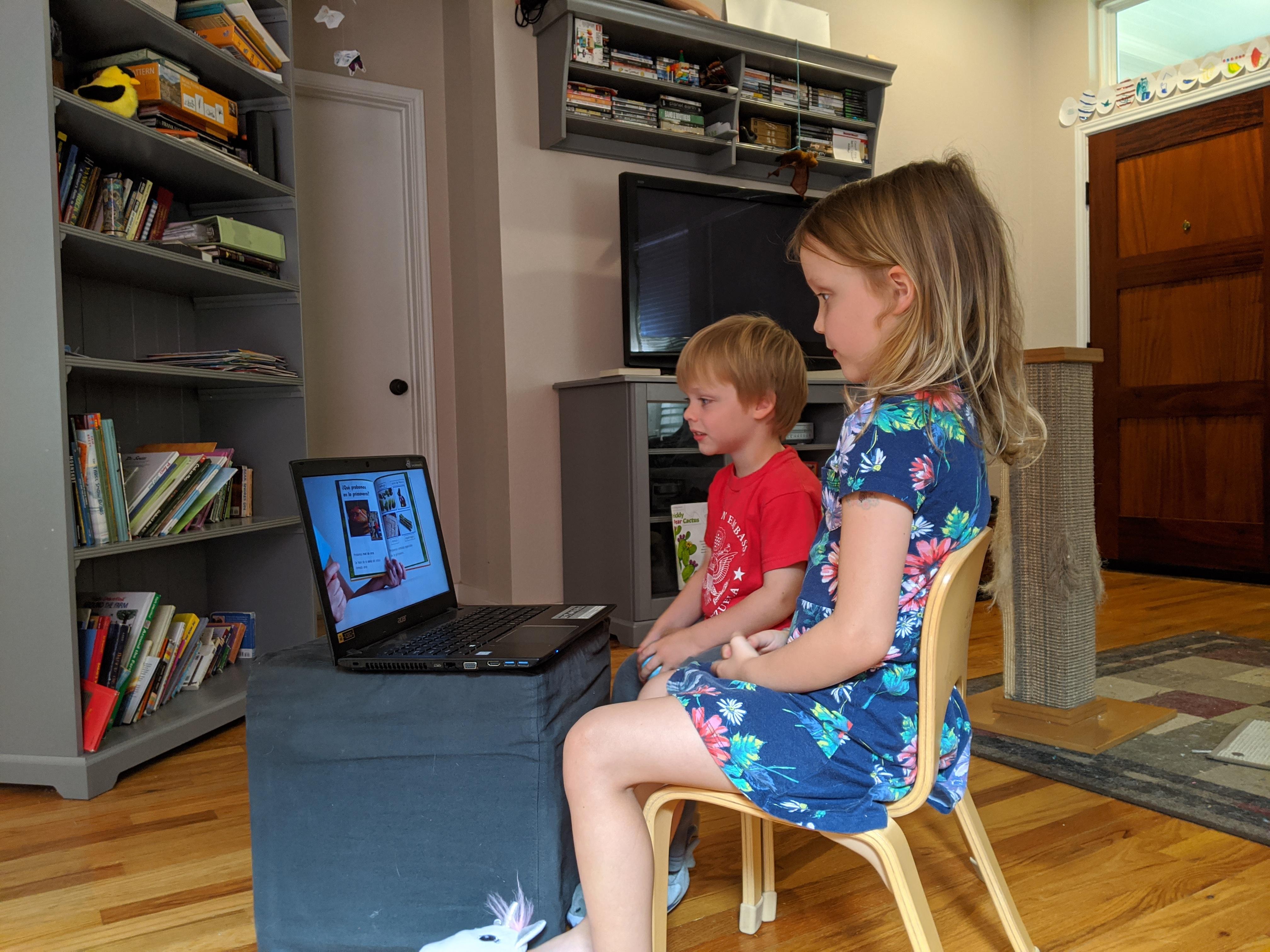 kids online spanish lesson